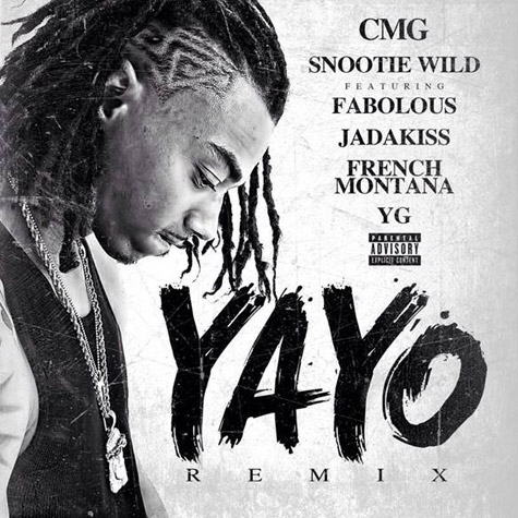 yayo-remix Snootie Wild - Yayo (Remix) Ft. Fabolous, Jadakiss, French Montana & YG