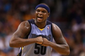 Memphis Grizzles Forward Zach Randolph Suspended For Game 7 Against the Oklahoma City Thunder