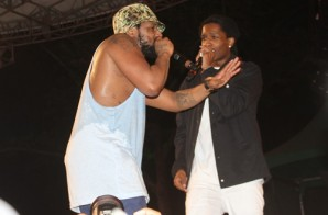 Watch Schoolboy Q Get Joined By ASAP Rocky At Summer Stage In NYC (Video)