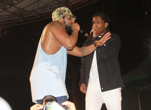 11 Watch Schoolboy Q Get Joined By ASAP Rocky At Summer Stage In NYC (Video)