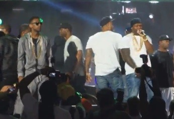 "20140602-023456-9296272 Fabolous & 50 Cent Perform ""Cuffin Season (Remix)"" Live at Summer Jam (Video)"
