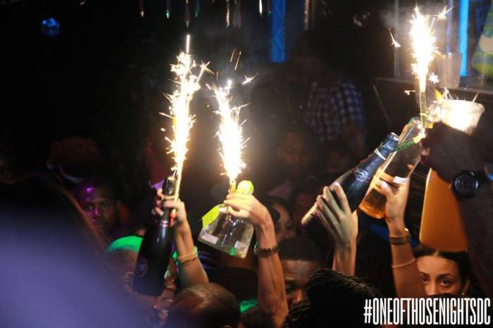 3 Angela Simmons & Friends Party It Up At Josephine's Nite Club In DC (Photos + Video) (2014)