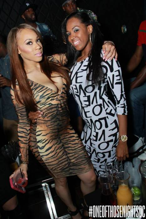 41 Angela Simmons & Friends Party It Up At Josephine's Nite Club In DC (Photos + Video) (2014)