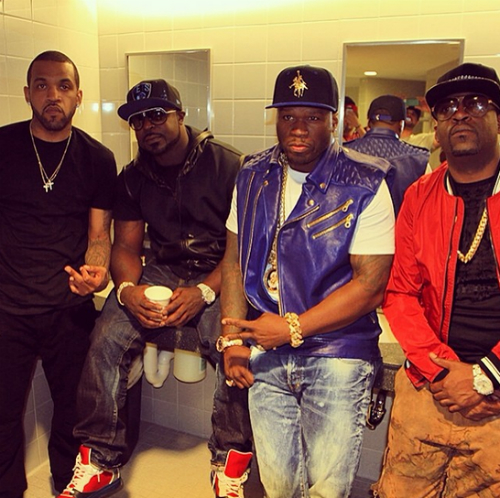 50_Cent_Joined_By_Gunit_Yo_Gotti_Fabolous_At_SummerJam