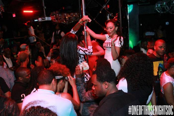 8 Angela Simmons & Friends Party It Up At Josephine's Nite Club In DC (Photos + Video) (2014)