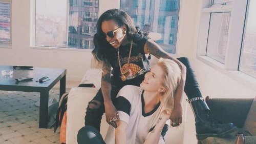 Angel_Haze_Confirms_Romance_With_Ireland_Baldwin