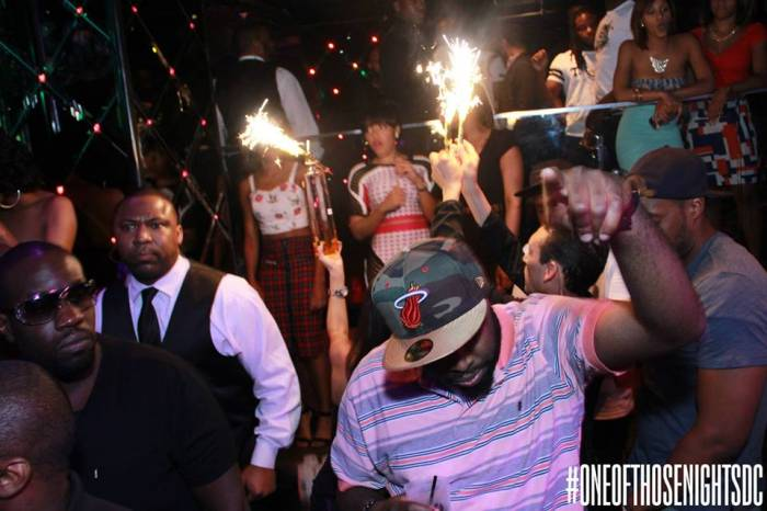 AngelaSimmons2 Angela Simmons & Friends Party It Up At Josephine's Nite Club In DC (Photos + Video) (2014)