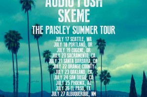 Vince Staples, Audio Push & Skeme Announce 'The Paisley Summer Tour' Dates !!