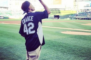 Chance The Rapper Throws First Pitch At White Sox Game (Video)