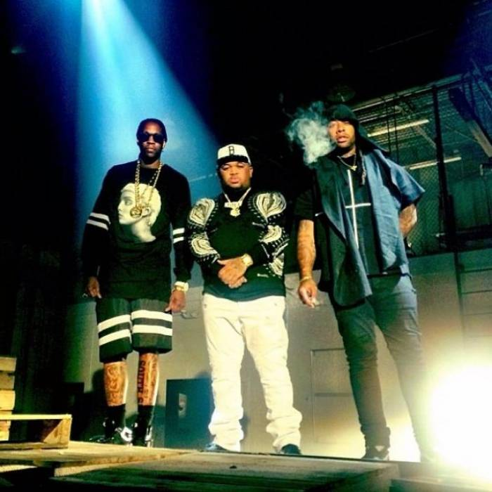 DM4 DJ Mustard, Ty Dolla $ign & 2 Chainz - Down On Me (BTS Photos)