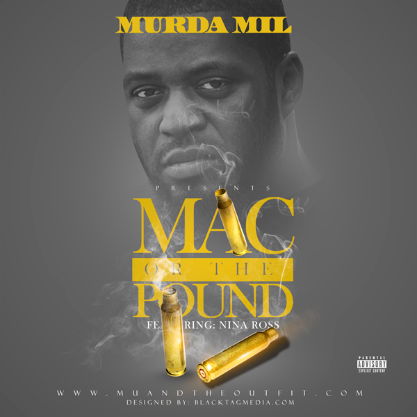 Front_Mac-or-the-Pound Murda Mil - Mac or the Pound Ft. Nina Ross
