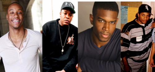 NWA_Biopic_Eazy_E_Dr_Dre Marcus Callender & Jason Mitchell Cast As Dr. Dre & Eazy E In NWA Biopic