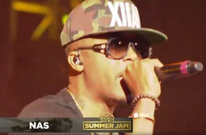 Nas Performs At Hot 97′s Summer Jam With Surprise Guests Meek Mill & French Montana (Video)