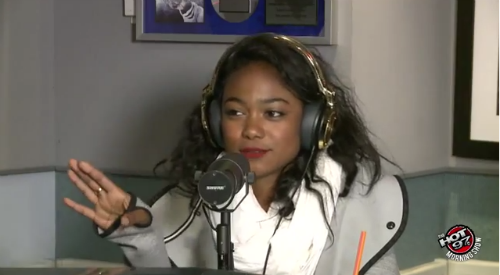 Tatyana_Ali_On_Hot97 Tatyana Ali Talks Girl Crushes, Will Smith, And More (Video)