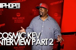 DJ Cosmic Kev Talks Running A Label, Playing Philly Diss Records, Q Deezy & More With HHS1987 (Video)
