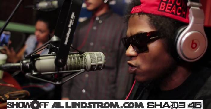 ab soul dash showoff radio freestyle video HHS1987 2014 Ab Soul & Da$h   Showoff Radio Freestyle (Video)