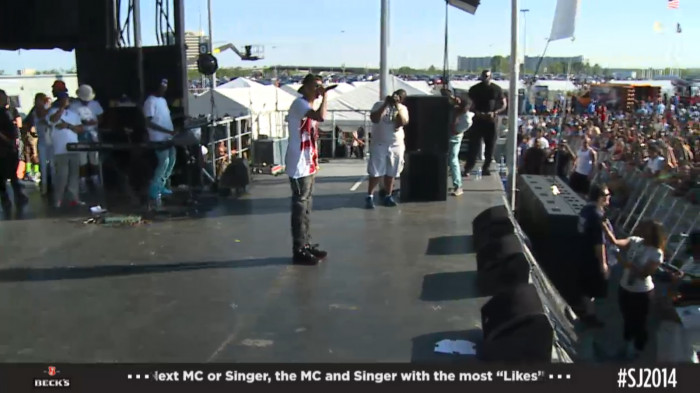 aug 1 August Alsina   Hot 97 Summer Jam 2014 Performance (Video)
