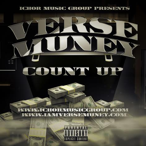 countupcoverart Verse Muney - Count Up
