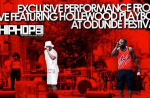 Exclusive Performance by Live featuring Hollewood Playboy at the Odunde Festival (Video)