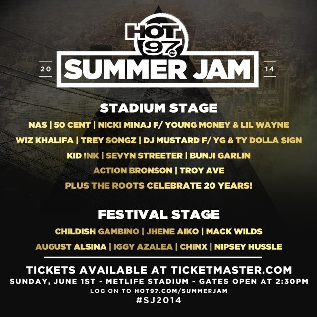 hot-97-summerjam-2014-1  HOT 97 Summer Jam 2014 (Festival Stage & Main Stage) (Live Stream) (Video)