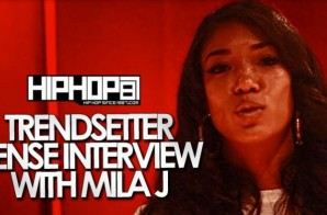 "Mila J Talks her debut Album ""M.I.L.A"", working with Prince, ""Smoke, Drink, Break Up"" & More with DJ Sense (Video)"