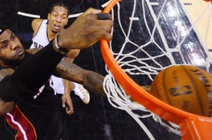 Miami Heat star Lebron James drops 35 Points in the Heat's Game 2 Victory over the Spurs (Video)