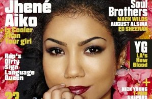 Jhene Aiko Takes Cover #2 of