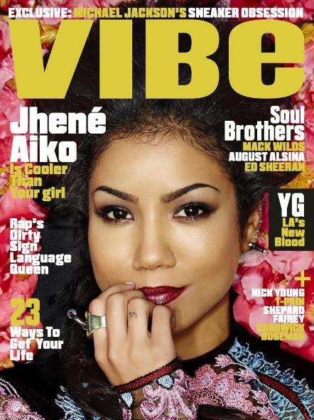 jhene-vibe Jhene Aiko Takes Cover #2 of VIBE Magazine's 2014 'Summer Issue' (Photo)