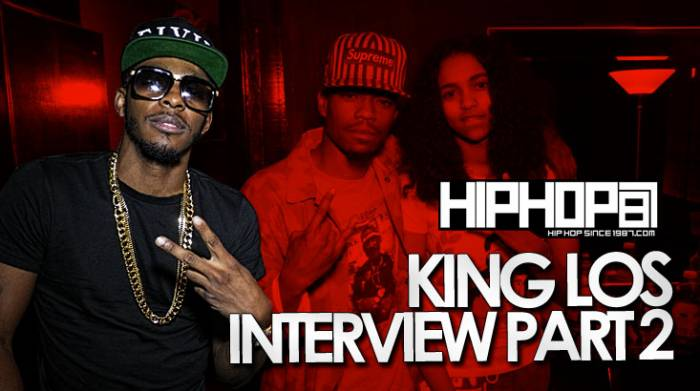 kinglos King Los Talks Being On Bad Boy, Advice For Young Artists, Carmen Amare & More With HHS1987