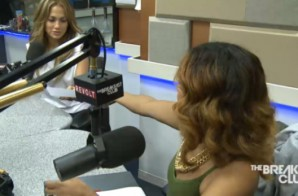 JLo Stops By The Breakfast Club T