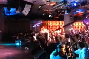 Lupe Fiasco Falls Off Stage During His Performance & Freestyles About It (Video)