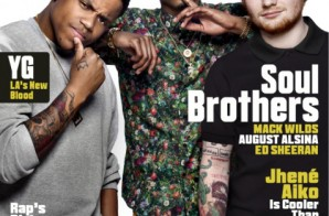 August Alsina, Ed Sheeran & Grammy Nominated Actor Turned Musician Mack Wilds Cover VIBE's 2014 'Summer Issue' (Photo)