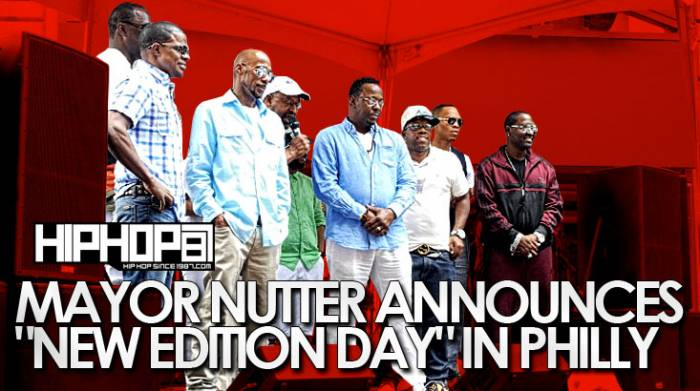"neweditionday Mayor Nutter Announces ""New Edition Day"" In Philadelphia (Video)"