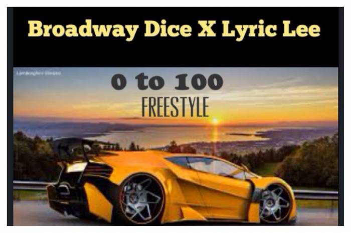 photo-1 Broadway Dice x Lyric Lee - 0 to 100 Freestyle