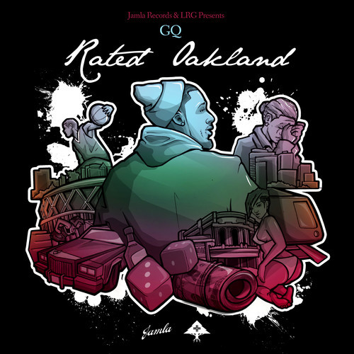 rated-oakland GQ x Problem x Bad Lucc - Falls Down (Prod. By 9th Wonder)
