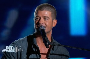 Robin Thicke – Forever Love (Live At 2014 BET Awards) (Video)