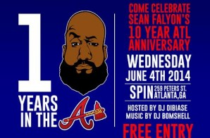 "Sean Falyon Presents: Spin Wednesdays (10 Years in the ""A"" Celebration)"