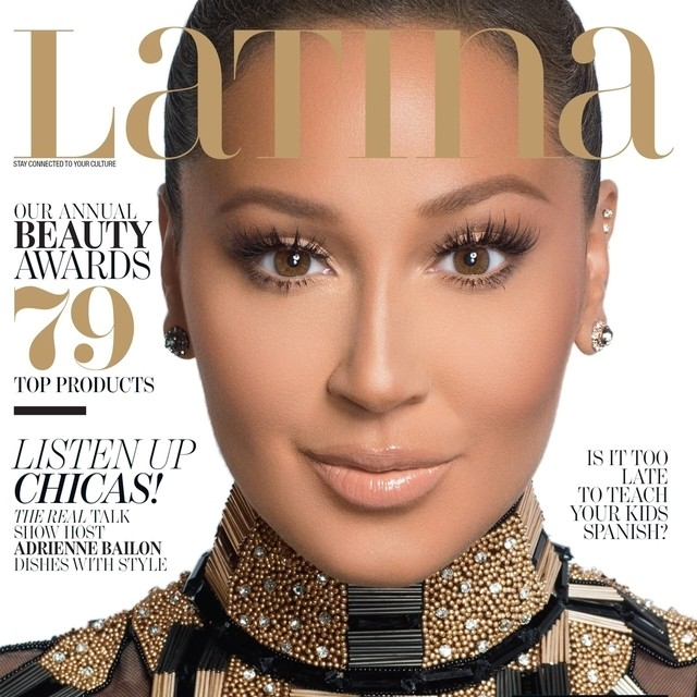 10537991 734351979958210 384365635 n Adrienne Bailon Covers Latina Magazine September 2014 Issue !!
