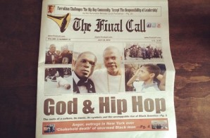 "God & Hip Hop: Jay Z x Jay Electronica Cover ""The Final Call"""