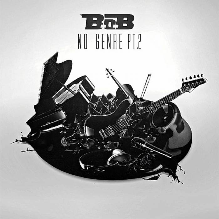 BoB-no-genre-2-cover B.o.B Unveils 'No Genre 2' Artwork