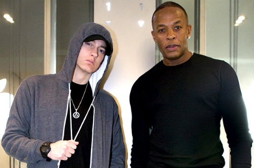 Emimen Joined By Dr Dre At Wembly Eminem Joined By Dr. Dre At Wembley Stadium (Video)