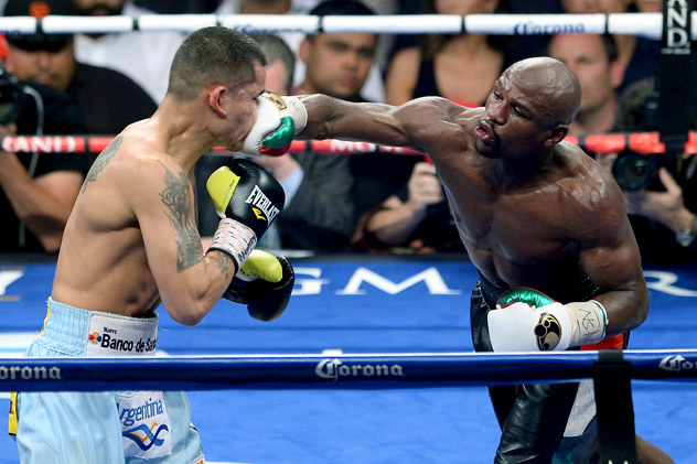Floyd-Mayweather-vs-Marcos-Maidana-2-ethan-miller-getty Let's Get Ready to Rumble: Floyd Mayweather Jr. Rematch with Marcos Maidana Set for September 13th