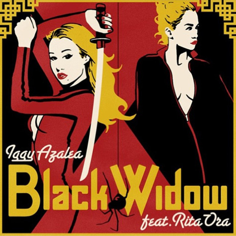 Iggy-Azalea-Rita-Ora-Black-Widow-Cover