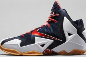 "Nike LeBron 11 ""July 4th"" (Photos)"
