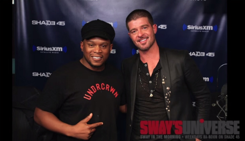 Robin_Thicke_Gets_Emotional_About_Paula_Patton_During_Sway_Interview Robin Thicke Gets Emotional About Paula Patton During Interview With Sway (Video)