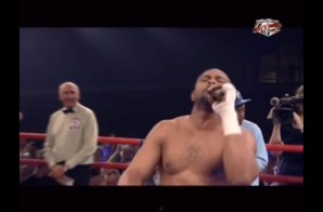 Battle Rap: Roy Jones Jr. Spits a few bars After his Boxing Victory (Video)