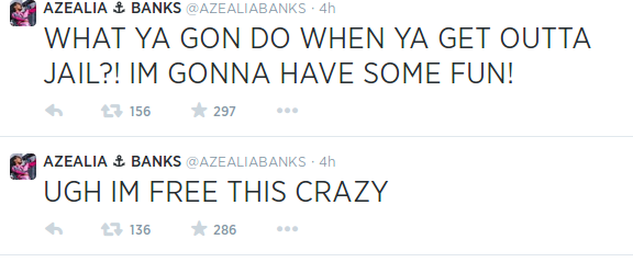 Screenshot-2014-07-11-at-4.02.11-PM After Countless Pleads, NY Femcee Azealia Banks Finally Has Been Released From Universal
