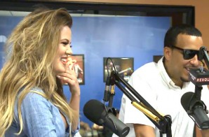 Angie Martinez Talks Love & Hip-Hop w/ French Montana & Khloe Kardashian (Video)