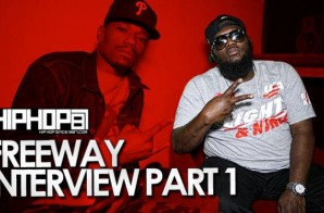 Freeway Talks 'Broken Ankles', Collaborating & Touring With Girl Talk & More With HHS1987 (Video)