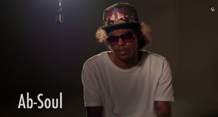 ab 1 Ab Soul   16 Bars Interview (Video)